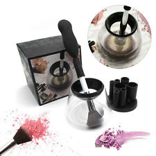 Electric Makeup Brush Cleanser Set Cosmetic Wash Box Tools Kit Universal Dryer d