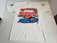 Vintage Bonneville Salt Flats Speedweek 1991 Graphic Tee Shirt White Adult L