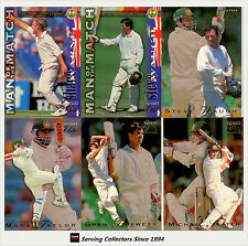 Cricket Base Set-1994/95 Futera Cricket Ashes Heroes Trading Card Box Set (60)