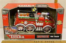 2004 Tonka Fire Truck Extreme Battery Motorized Lights & Sound Model #04346 NIB