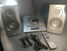 Sharp XL-1200 Compact Audio System Radio CD Player Tested Remote Doesn't Work