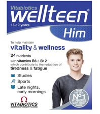 Vitabiotics Wellteen Him 30 Tablets