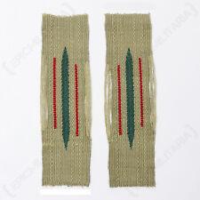ARTILLERY EM BAVO LITZEN COLLAR TABS - Repro WW2 German Military Army Patch New
