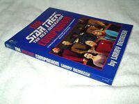 Star Trek Paperback Book The Next Generation Companion by Larry Nemeck