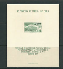 CHILE 1974 UPU BERN HEADQUARTERS presentation CARD VF