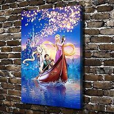 Disney's Tangled Paintings HD Print on Canvas Home Decor Wall Art Pictures
