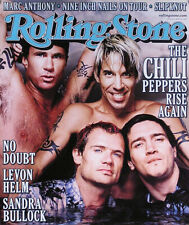 Red Hot Chili Peppers 2000 April Rolling Stones Magazine Cover Promo Poster