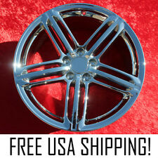 "Set of 4 Chrome 19"" Audi A4 / S4 OEM Factory Wheels Rims 58840"
