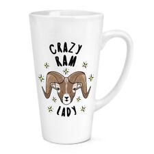 Crazy RAM Lady Stars 17 OZ (ca. 481.93 g) Grande Latte Macchiato tazza-ANIMALE BUFFO