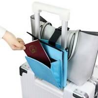 Travel Luggage Bag Suitcase Safe Strap Tie Down Belt Document Organizer Holder