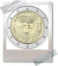2 EURO *** Litouwen 2019 La Lituanie ***  Sutartinės   !!!