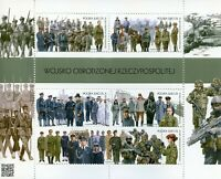 Poland 2018 MNH Army of Reborn Republic 6v M/S Weapons Guns Military Stamps