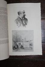 1900 Mariani Uzanne Biographie Luigi Loir peintre eau-forte Le Nain autographe