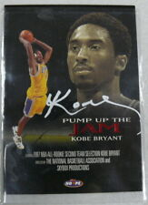 Kobe Bryant Signed Autographed Pump Up the Jam Card Skybox Productions