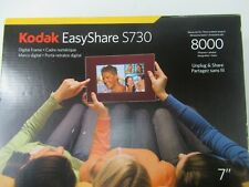 "Kodak Easyshare S730 7"" Digital Photo Frame Up To 8000 Photos New Open Box -E404"