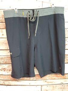 "QUIKSILVER Waterman Angler 20"" Board Shorts Swim Mens Sz 34 MSRP $70.00"