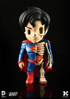 Mighty Jaxx XXRAY SUPERMAN Dissected Vinyl Figure (DC Comic) *NEW*