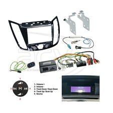 Ford C-Max a partir de 2010 doble DIN radio diafragma diafragma + adaptador volante Clarion radio