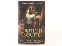GOOD! Black London Bk.2: Demon Bound by Caitlin Kittredge (2009, Paperback)
