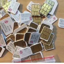 1pcs T-mobile Nano Sim Card