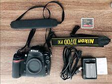 Nikon D700 FX Digital SLR Camera Body + Accessories (Shutter Count: 2683)