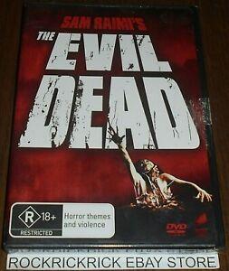 THE EVIL DEAD DVD REGION 4 SAM RAIMI'S Bruce Campbell (BRAND NEW SEALED)