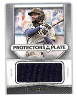 2021 Topps Definitive Fernando Tatis Jr Protectors At The Plate /25 patch relic