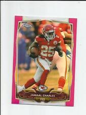 JAMAAL CHARLES 2014 PINK REFRACTOR 87/399