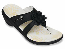 Spenco Sandals Black Rose Size 5  Womens New with Tags