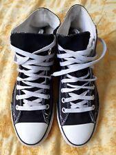 Converse Gr. 41 schwarz Chucks Sneaker weiss Klassiker All Stars Damen Herren