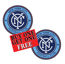 New York City FC 2015 Soccer MLS NYCFC Futbol Club Football Yankees Decal 2for1