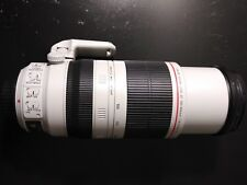 Canon EF 100 mm-400 mm F/4.5-5.6L IS II USM with Lens Case LZ1326 and Lens Hood