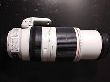 Canon EF 100 mm-400 mm F/4.5-5.6L IS II USM with Lens Case LZ1326 and Lens Hood