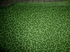 100% Cotton Home Decor Fabric Vintage Laura Ashley Green on Green Abstract 10 YD