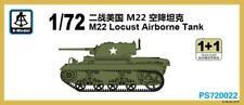 S-model 1/72 PS720022 M22 Locust Airborne Tank (1+1)