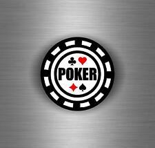 Sticker aufkleber tuning jdm motorrad auto biker poker casino cards ass chip r1