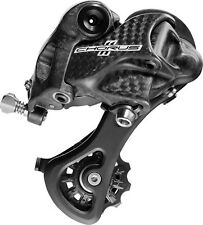 Campagnolo Chorus Bicycle Rear Bike Derailleur Medium Bike Cage Carbon