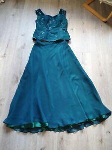 👗 Abendkleid Kleid Gr. 42 1xgetragen, 2 teilig👗