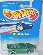 #445 - JAGUAR XJ 220 - green metallic - Hot Wheels 1992