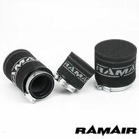 RAMAIR Lambretta Scooter - Performance Race Twin Layer Foam Pod Air Filter 65mm