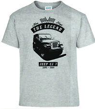 T-Shirt, Jeep CJ 7, Auto, Oldtimer, youngtimer