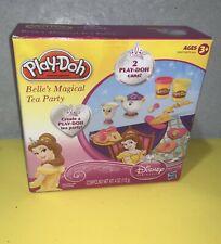 New 2012 Hasbro Play-Doh Disney Princess Belle's Magical Tea Party Set