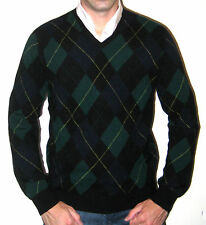 Ralph Lauren RLX Lambs Wool Argyle Sweater $295 - Size Medium