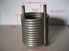 Heizspirale, Wärmetauscher, Spirale, Edelstahl, AD= 160mm