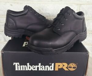 Timberland PRO Oxford Titan Alloy Toe Oxford Work Boots Size 12 M Black 40044