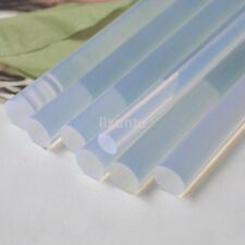 50pcs 100mm x 7mm Hot Transparent Melt Glue Adhesive Sticks For Glue Gun EVA US