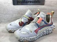 Men's Nike Overreact Flyknit ISPA  Summit White/Reflect Silver CD9664-100 Size 8