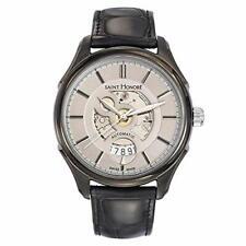 Saint Honoré Men's Self-Winding Automatic Open Dial Wrist Watch 8800517LGIN