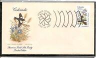 US SC # 1958 State Birds And Flowers ( Colorado ) FDC. HF Cachet .