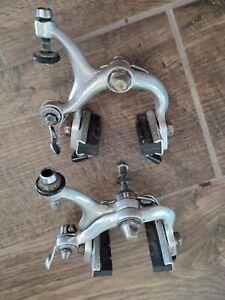 Vintage Campagnolo 4061 (v2) SUPER RECORD 3rd gen pinze freni brake calipers VGC